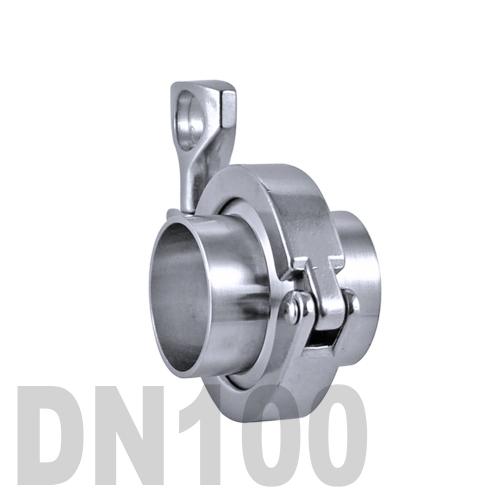 Соединение «КЛАМП» в сборе нержавеющее AISI 304 DN100 (104 мм)