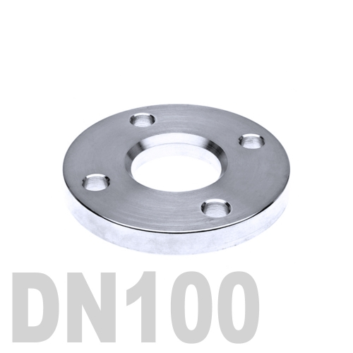 Фланец нержавеющий свободный AISI 304 DN100 (114.3 мм)
