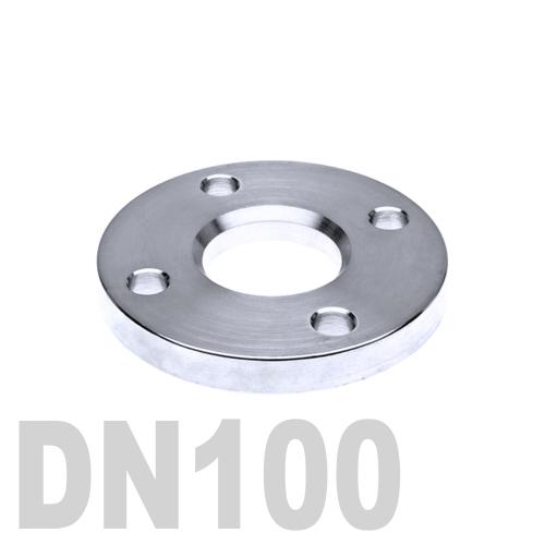 Фланец нержавеющий свободный AISI 316 DN100 (114.3 мм)