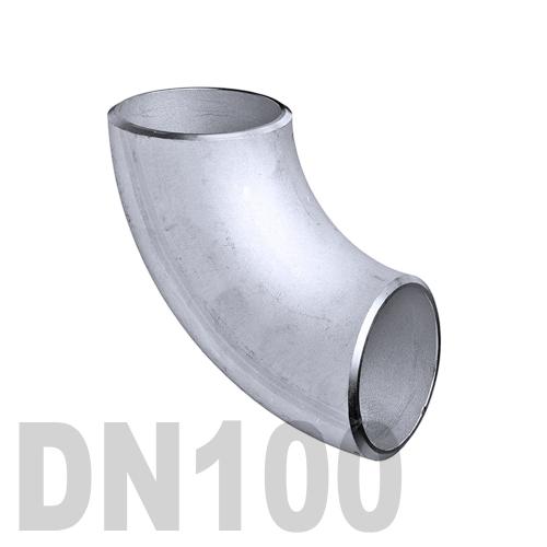 Отвод нержавеющий приварной AISI 304 DN100 (114.3 x 2 мм)