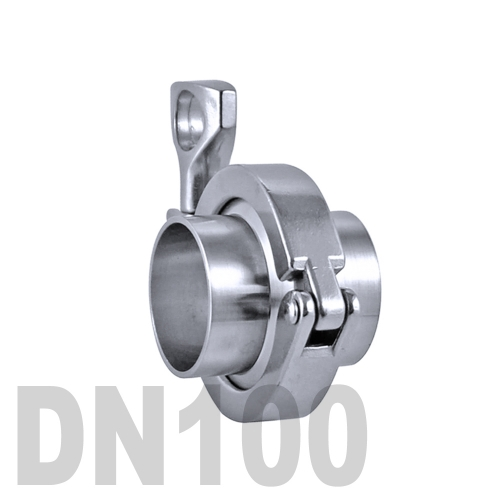 Соединение «КЛАМП» в сборе нержавеющее AISI 304 DN100 (101.6 мм)