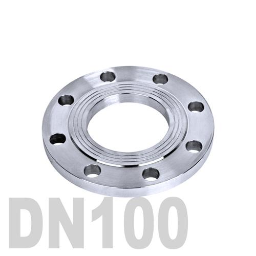 Фланец нержавеющий плоский AISI 304 DN100 (104 мм)