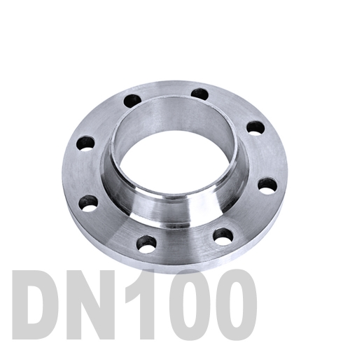 Фланец нержавеющий воротниковый AISI 304 DN100 (114.3 мм)
