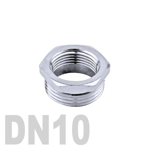 Футорка нержавеющая [нр / вр] AISI 316 DN10x8 (17.2 x 13.5 мм)