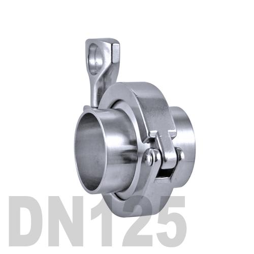 Соединение «КЛАМП» в сборе нержавеющее AISI 316 DN125 (129 мм)