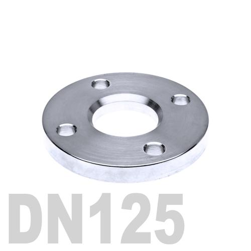 Фланец нержавеющий свободный AISI 304 DN125 (129 мм)