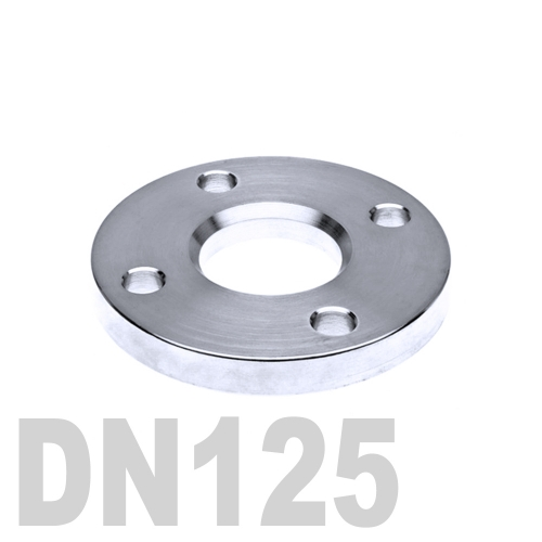 Фланец нержавеющий свободный AISI 304 DN125 (139.7 мм)