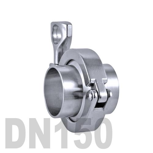 Соединение «КЛАМП» в сборе нержавеющее AISI 304 DN150 (154 мм)