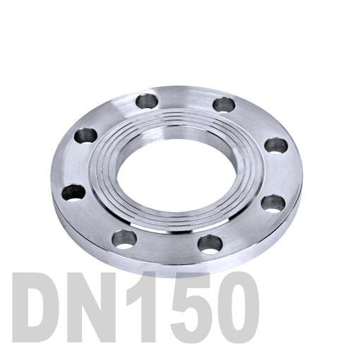 Фланец нержавеющий плоский AISI 316 DN150 (154 мм)