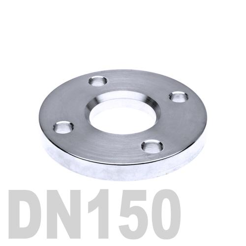 Фланец нержавеющий свободный AISI 316 DN150 (154 мм)