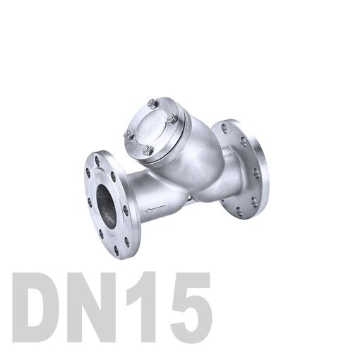 Фильтр фланцевый нержавеющий AISI 316 DN15 (21.3 мм)