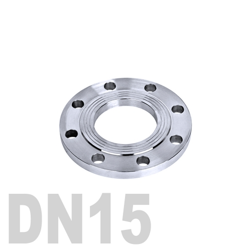 Фланец нержавеющий плоский AISI 304 DN15 (21.3 мм)
