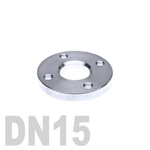 Фланец нержавеющий свободный AISI 316 DN15 (18 мм)