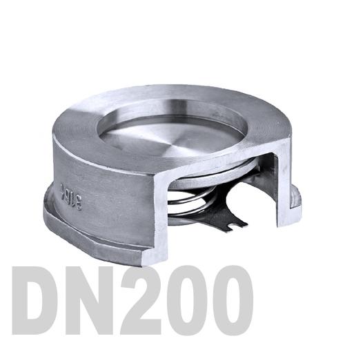 Клапан обратный межфланцевый нержавеющий AISI 316 DN200 (219.1 мм)