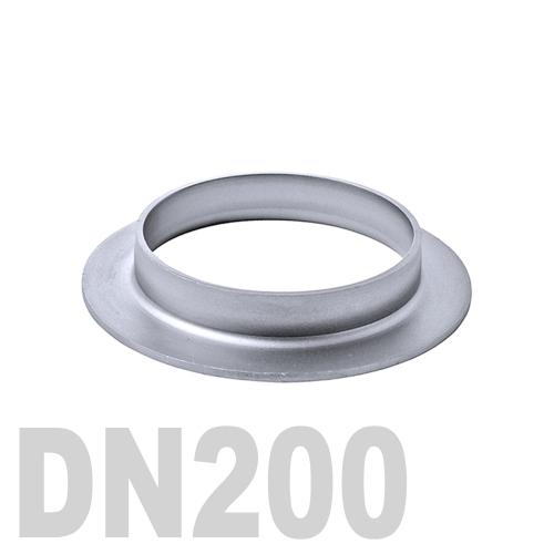 Фланцевая нержавеющая отбортовка AISI 304 DN200 (204 x 2.0 мм)