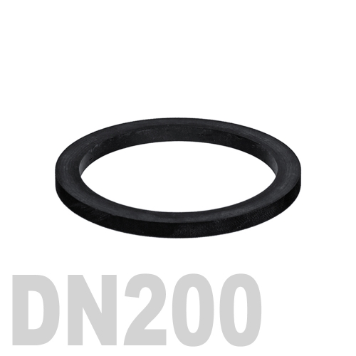 Прокладка EPDM DN200 PN10 DIN 2690