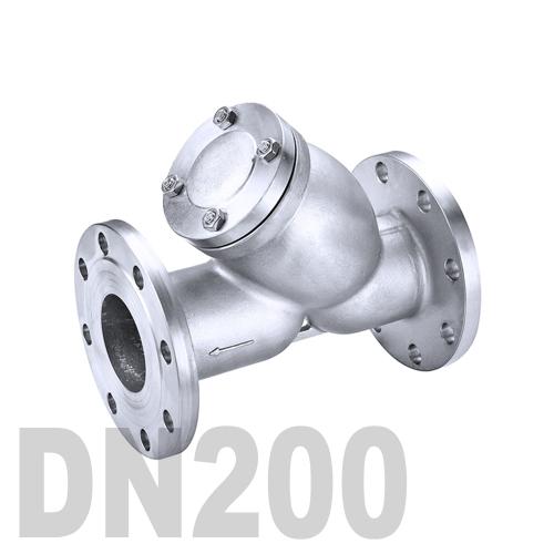 Фильтр фланцевый нержавеющий AISI 316 DN200 (219.1 мм)
