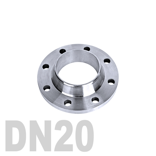 Фланец нержавеющий воротниковый AISI 304 DN20 (26.9 мм)
