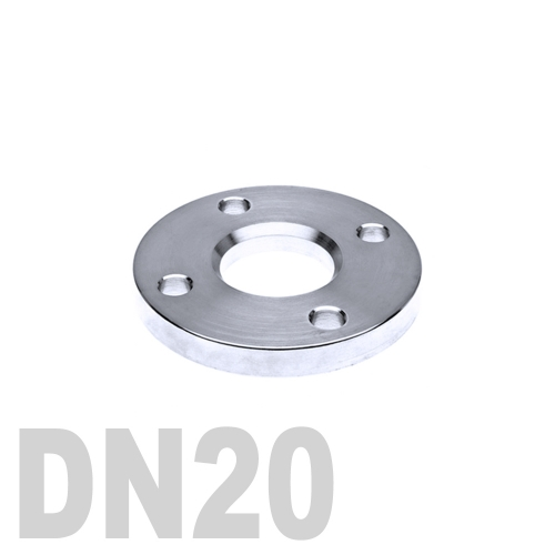 Фланец нержавеющий свободный AISI 316 DN20 (22 мм)
