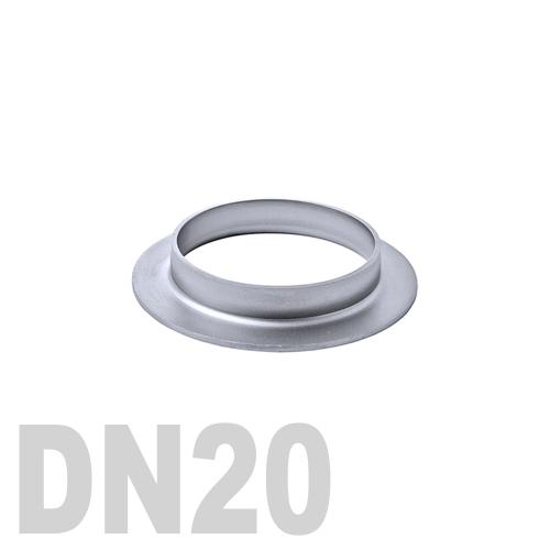 Фланцевая нержавеющая отбортовка AISI 316 DN20 (26,9 x 2,0 мм)