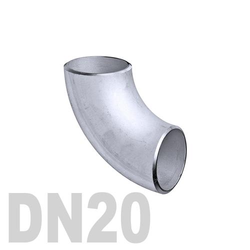 Отвод нержавеющий приварной AISI 316 DN20 (22 x 1.5 мм)