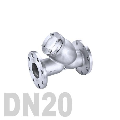 Фильтр фланцевый нержавеющий AISI 316 DN20 (26.9 мм)