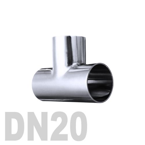 Тройник нержавеющий приварной AISI 316 DN20 (23 x 1.5 мм)