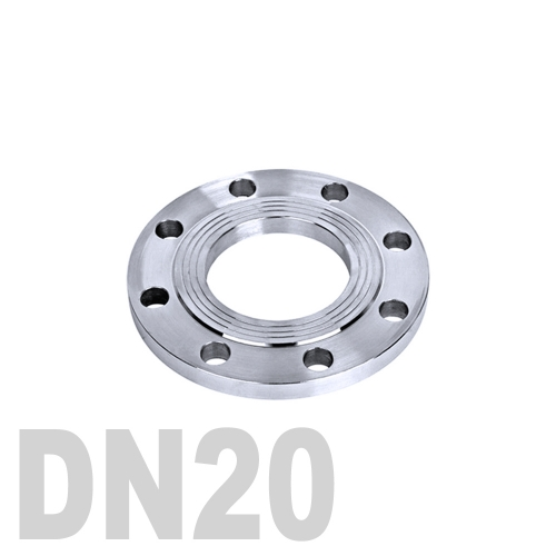 Фланец нержавеющий плоский AISI 304 DN20 (23 мм)