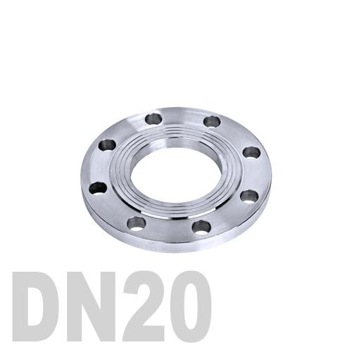 Фланец нержавеющий плоский AISI 304 DN20 (26.9 мм)