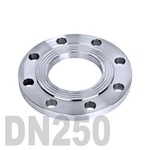 Фланец нержавеющий плоский AISI 316 DN250 (254 мм)