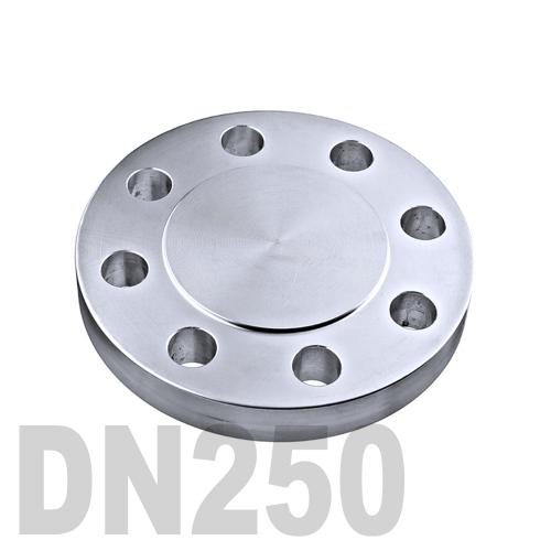 Фланцевая нержавеющая заглушка AISI 316 DN250 (254 мм)