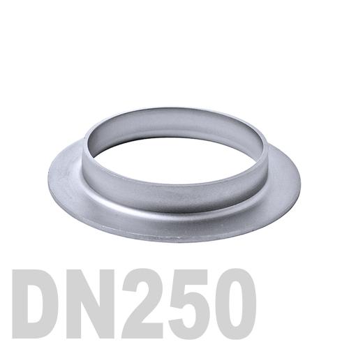 Фланцевая нержавеющая отбортовка AISI 304 DN250 (273,0 x 3,0 мм)