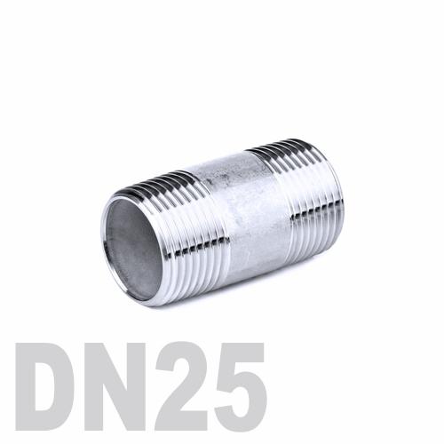 Бочонок нержавеющий [нр / нр] AISI 316 DN25 (33.7 мм)