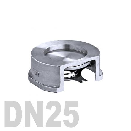 Клапан обратный межфланцевый нержавеющий AISI 316 DN25 (33.7 мм)