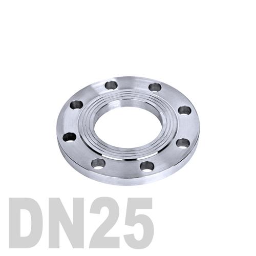 Фланец нержавеющий плоский AISI 316 DN25 (33.7 мм)
