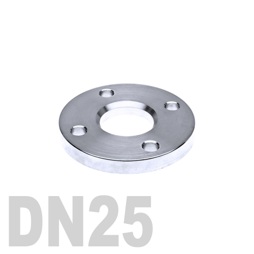 Фланец нержавеющий свободный AISI 316 DN25 (29 мм)