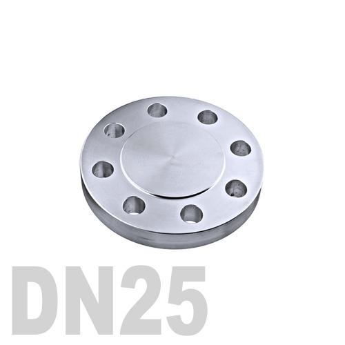 Фланцевая нержавеющая заглушка AISI 316 DN25 (28 мм)