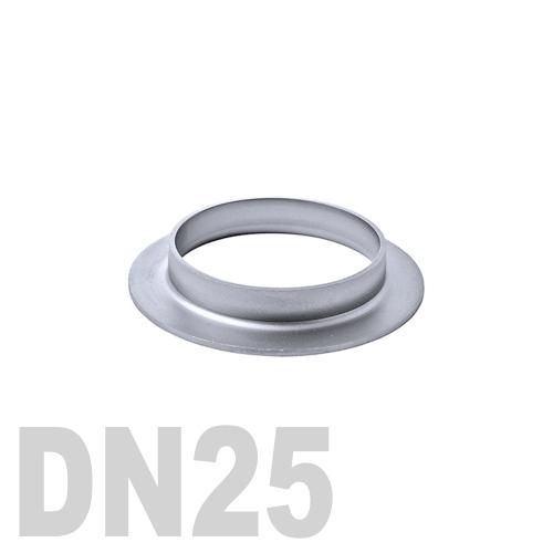 Фланцевая нержавеющая отбортовка AISI 316 DN25 (28 x 1.5 мм)