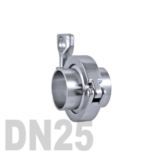 Соединение «КЛАМП» в сборе нержавеющее AISI 304 DN25 (29 мм)