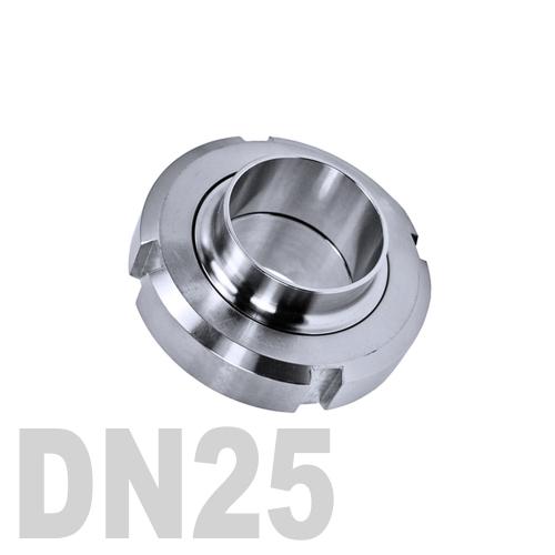 Муфта «молочная» в сборе нержавеющая AISI 316 DN25 (25.4 мм)