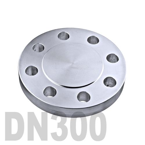 Фланцевая нержавеющая заглушка AISI 304 DN300 (323.9 мм)