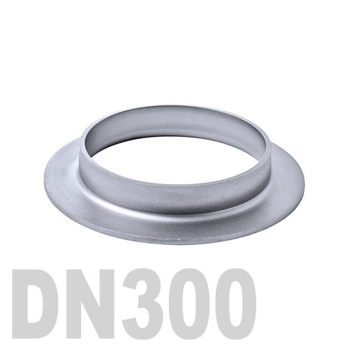 Фланцевая нержавеющая отбортовка AISI 304 DN300 (323,9 x 3,0 мм)