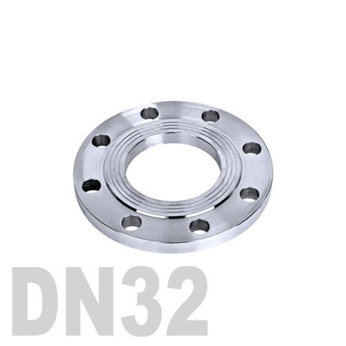 Фланец нержавеющий плоский AISI 316 DN32 (34 мм)
