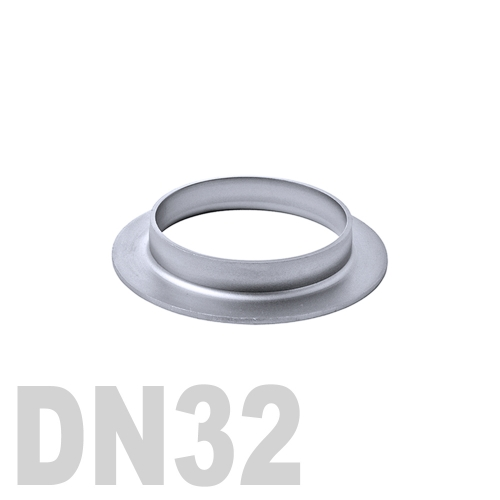 Фланцевая нержавеющая отбортовка AISI 304 DN32 (34 x 1.5 мм)