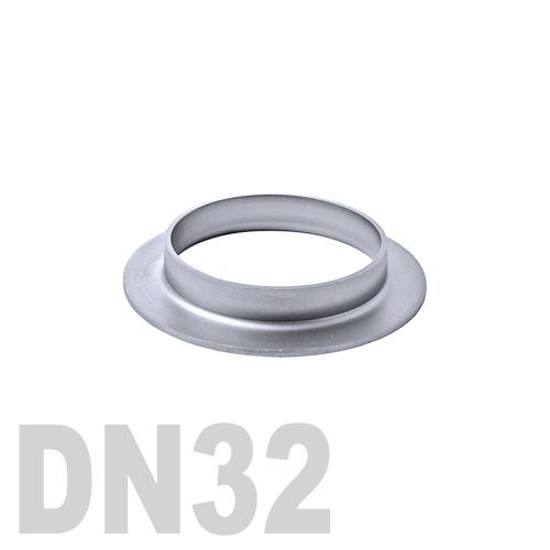 Фланцевая нержавеющая отбортовка AISI 304 DN32 (42,4 x 2,0 мм)