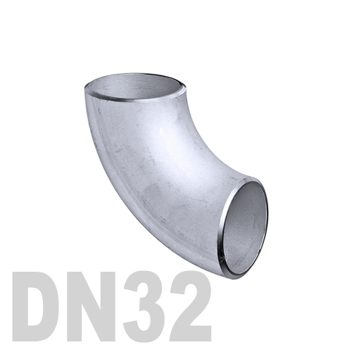 Отвод нержавеющий приварной AISI 316 DN32 (34 x 1.5 мм)