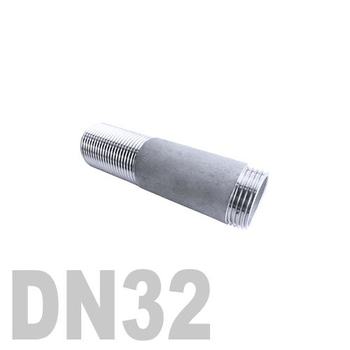 Переход эксцентрический нержавеющий приварной AISI 316 DN32x25 (35,0 x 29,0 x 1,5 мм)