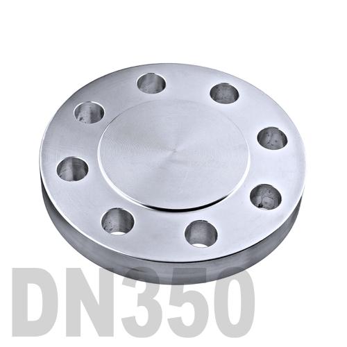 Фланцевая нержавеющая заглушка AISI 304 DN350 (355.6 мм)