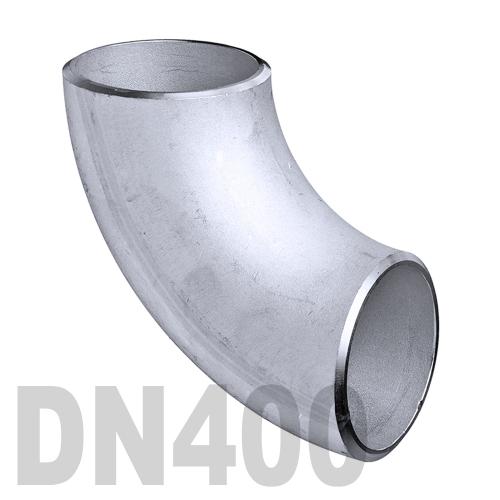 Отвод нержавеющий приварной AISI 316 DN400 (406.4 x 3 мм)