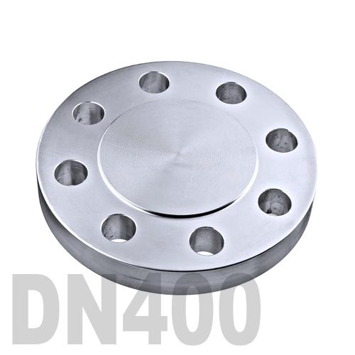 Фланцевая нержавеющая заглушка AISI 304 DN400 (406.4 мм)